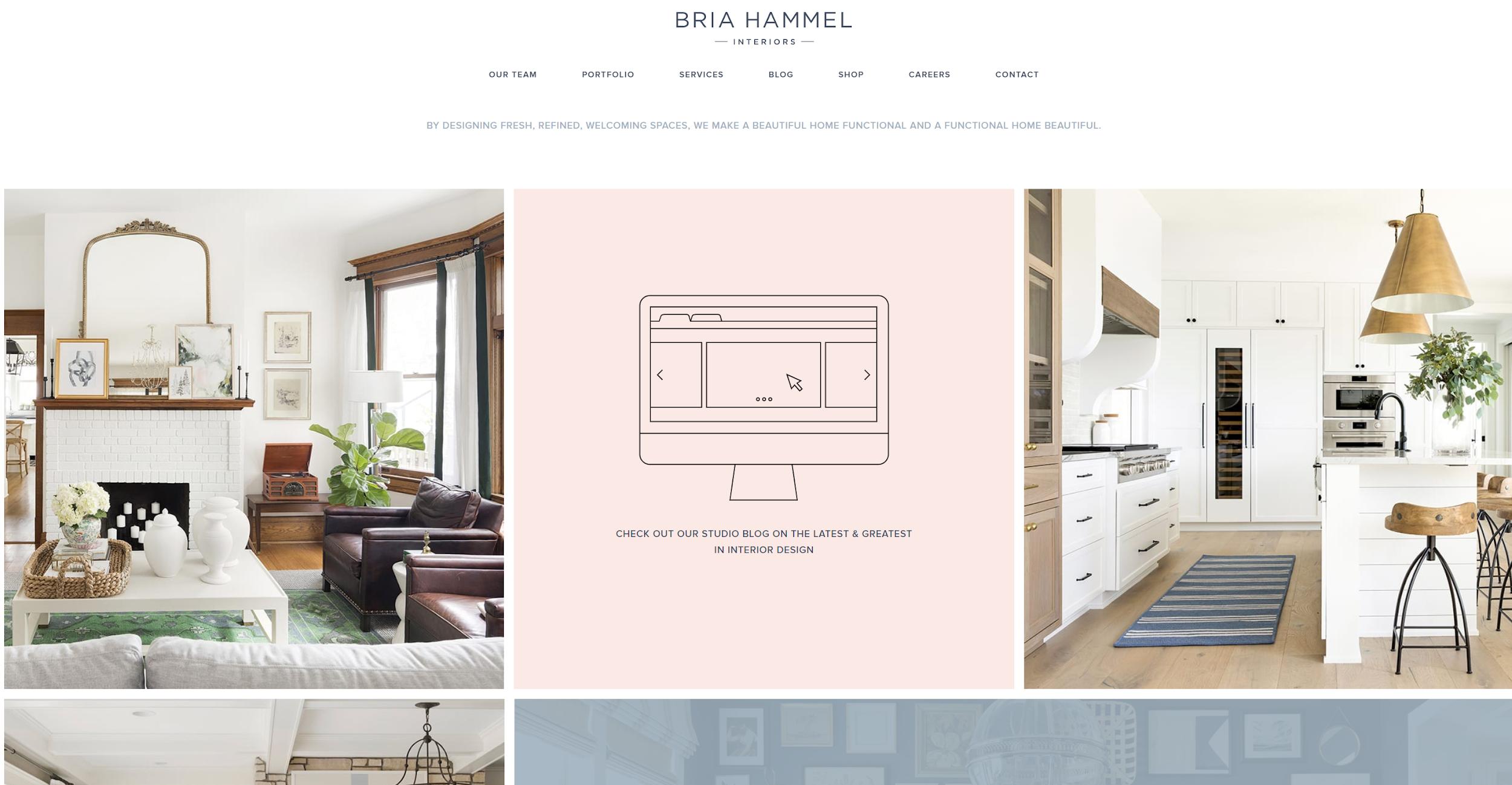 Bria Hammel Website portfolio