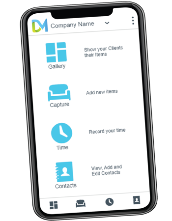 mobile app on iphonex